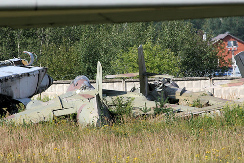 Stored Yakovlev Yak-28s