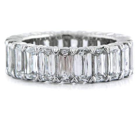 8.07ct Christopher Designs Diamond Platinum Eternity