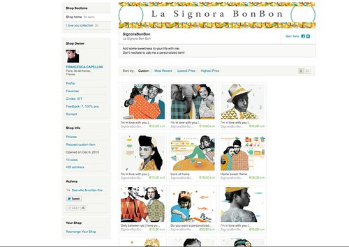 Lot's of new prints on sell in my Etsy Shop! by la casa a pois