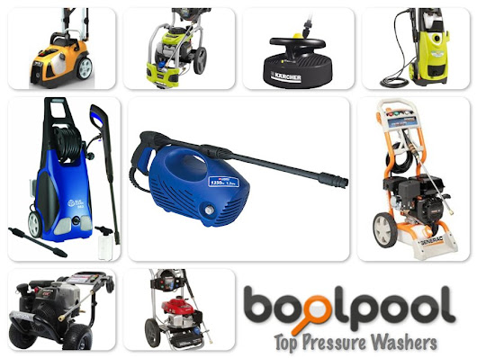 Reviews of Top 10 Pressure Washers - Get Ready for Spring Cleaning