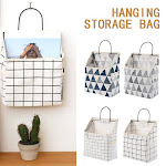 Willstar Multifunction Bedside Sofa Organizer Bag Storage Bag Holder Bedside Book Bag Hanging Sundries Organizer Dormitory Storage Bag 1