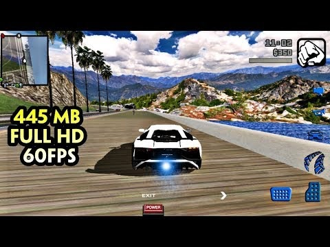 GTA V MOD v8 (445MB) Đồ Họa Full HD 60FPS - FULL GPU & RAM 1GB+