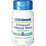 Life Extension - Enhanced Natural Sleep with Melatonin - 30 Capsules