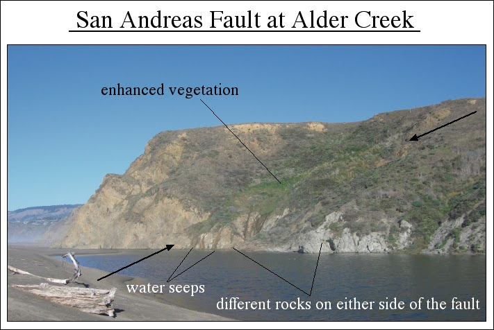 San Andreas Fault From Space Tectonic Tour: ...