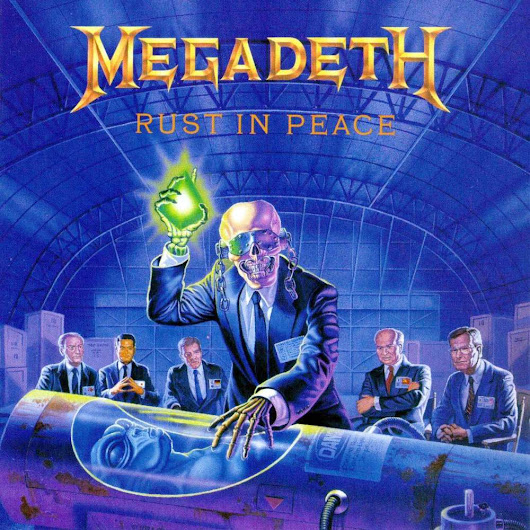 "The ""Rust in Peace"" Conspiracy, Part I - Theories about the cover"
