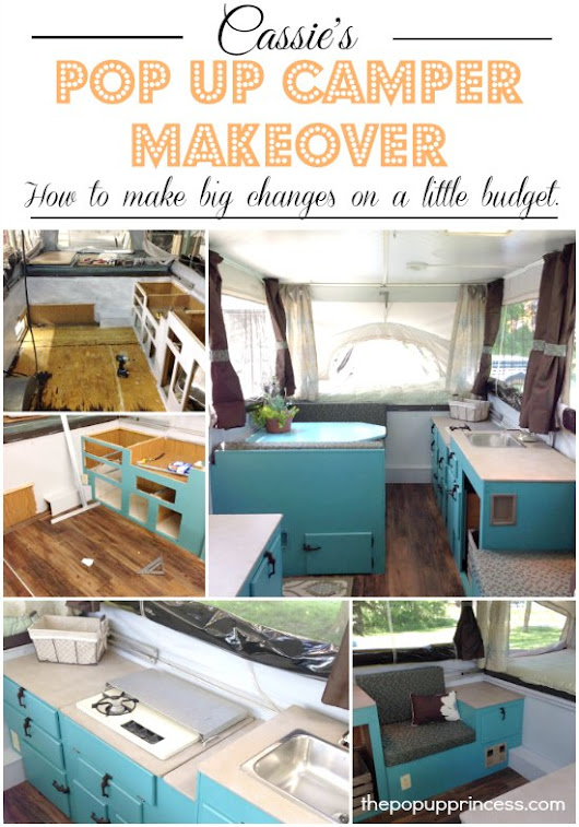 Pop Up Camper Remodel:  Cassie's Pop Up Makeover – Round 2