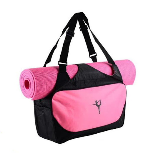 Yoga Mat Bag Waterproof Backpack Shoulder Messenger Gym Bag (No Yoga Mat)
