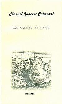 Portada del poemario Los violines del viento (Priego de Córdoba, 2012)