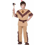 Native American Indian Brave Costume Child Medium