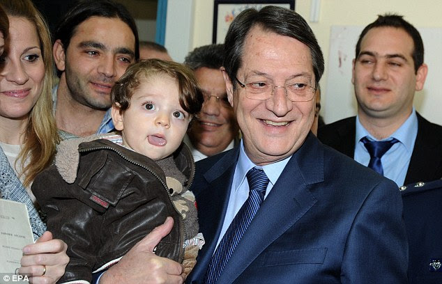 Cypriot President Nicos Anastasiades is trying to rally support, but if he can't the country may crash out of the single currency