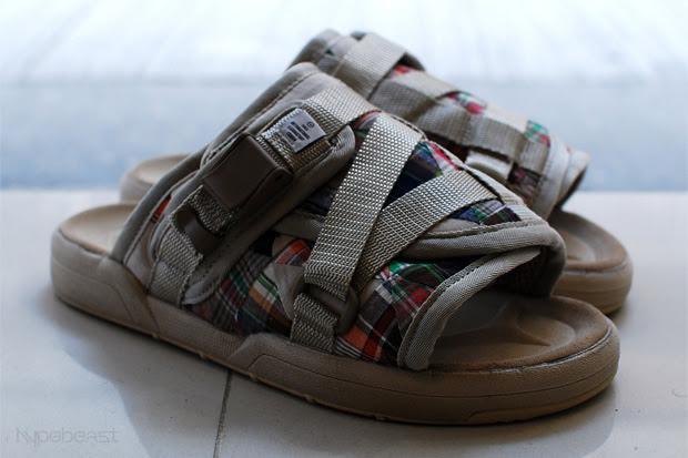 visvim fil patchwork christo sandals 3 VISVIM F.I.L. Exclusive Patchwork Christo