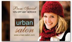 CPS-1074 - salon coupon card