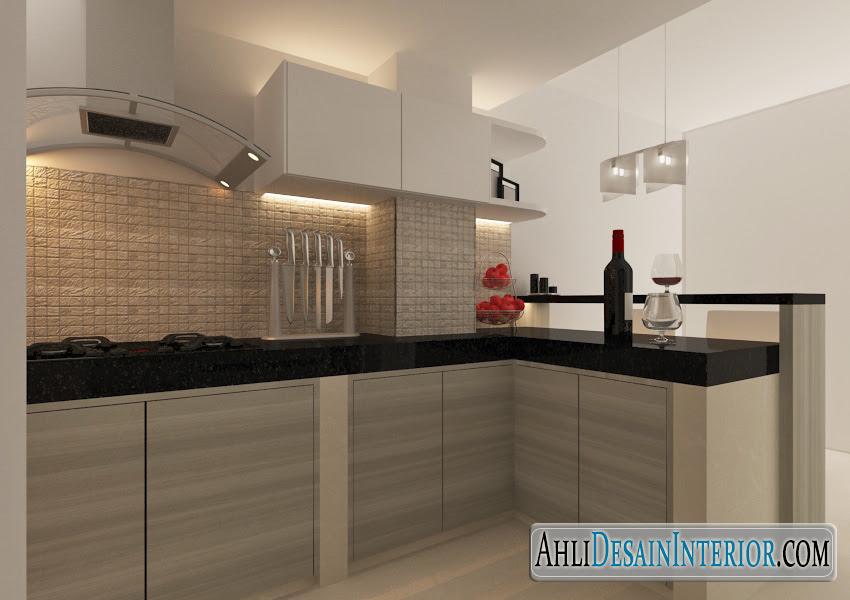 Desain Interior Dapur Minimalis Sederhana Nan Kecil