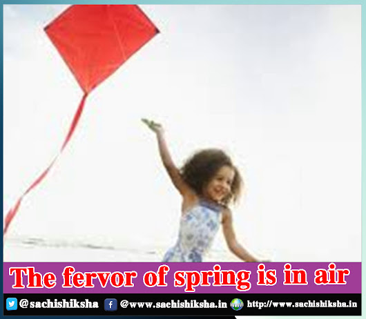 The fervor of spring is in air | SACHI SHIKSHA - The Famous Spiritual Magazine in India