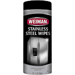 "Weiman Stainless Steel Wipes, 7"" x 8"" - 30 count"