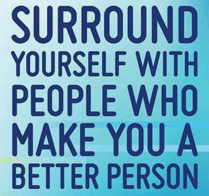 Surround Yourself With Positive People Quotes Stunning Surround
