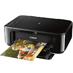 Canon PIXMA MG3620 Wireless Photo Inkjet Multifunction Color Printer - Black