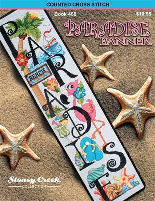 Paradise Banner - Cross Stitch Pattern