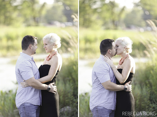 heather & adam | Frankfort Engagement Session