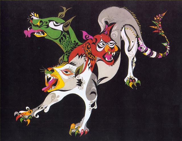 Erni Cabat (Magical World Of Monsters 1992) Cerberus