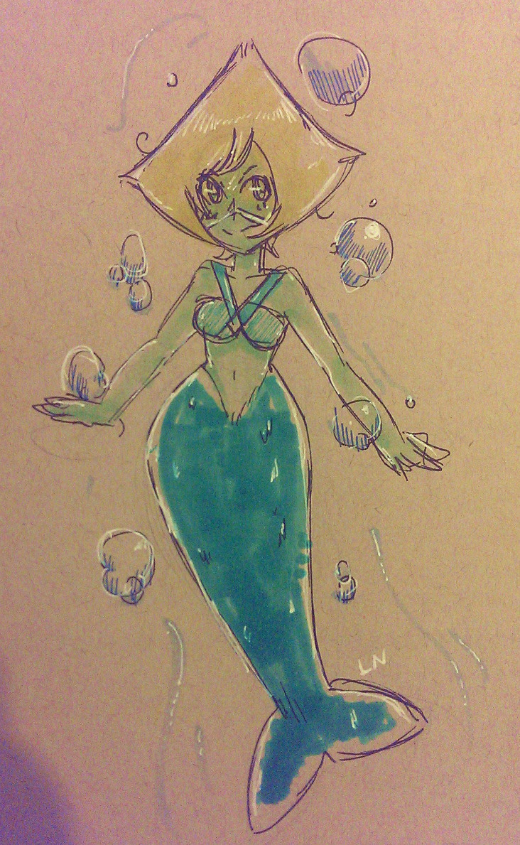 MerMay Peridot A lot of my Spectrum markers were dried out to hell even tho they were sealed Oh well