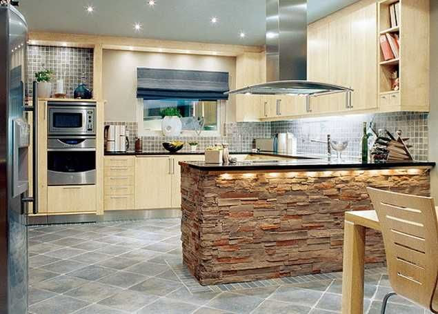 Contemporary Kitchen Design Trends 2014 Unite New Materials, Natural …