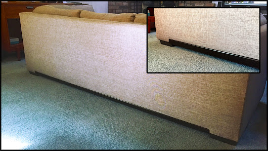 Creative Couch Repair - Claws & Couches don't mix! - South Lake Tahoe faux finish studio
