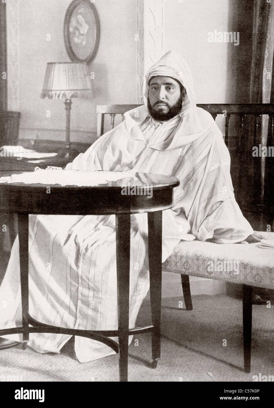 Abdelhafid of Morocco (or Mulai Abd al-Hafiz), 1873 - 1937 ...