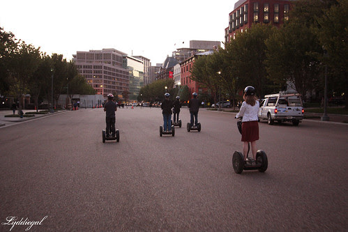 Segways take off