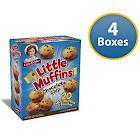 Little Debbie Little Chocolate Chip Muffins 8.27 oz (4 Boxes)