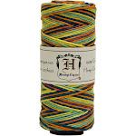 Hemptique Hemp Variegated Cord Spool 20lb 205'-Rainbow