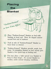 Electric Blanket booklet