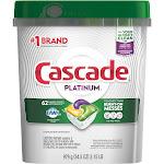 Cascade Platinum Dishwasher Detergent, Lemon Burst, ActionPacs, Super Size - 979 g