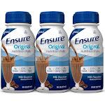Ensure Original Nutritional Shake, Milk Chocolate, 8 oz Bottle