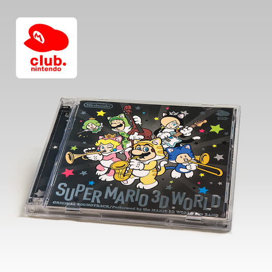 Super Mario 3D World & Kirby soundtracks back up on Club Nintendo Europe