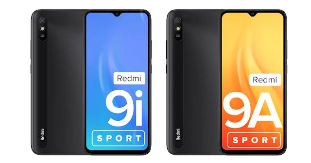 Redmi 9i Sport और Redmi 9A Sport भारत में हुए लॉन्च, जानिए डिटेल्स फीचर्स और कीमत