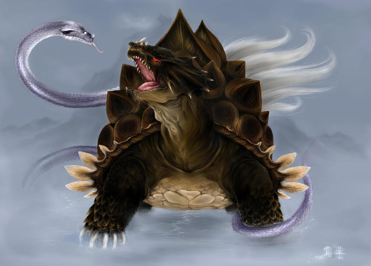 13 Dibujos Espectaculares De Bestias Mitologicas Imág En Taringa