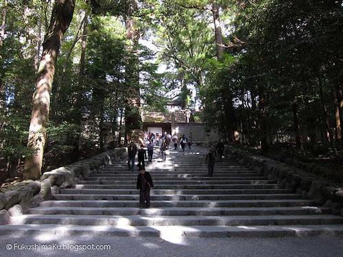 Ise Naiku - tempio della dea Amaterasu