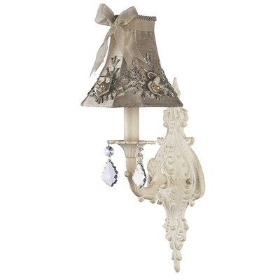Jubilee Collection Ruffled Edge Chandelier Shade in White | Wayfair