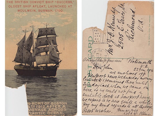 Ditty Bag: Convict Ship Success | Naval Historical Foundation