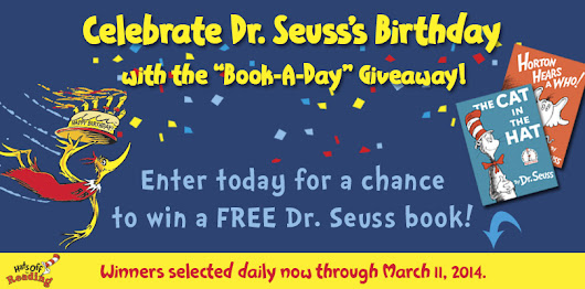 "Dr. Seuss's ""Book-A-Day"" Giveaway"