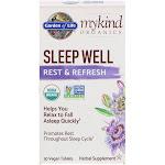 Garden of Life Sleep Well, Rest & Refresh, Vegan Tablets - 30 tablets