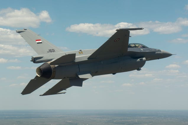 Iraq's F-16s Have A Cool Paint Job But Antiquated Weapons