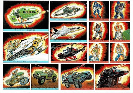 CORRECTION – Takara G.I.Joe Promotional A4 Scans
