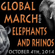 March for Elephants and Rhinos | Oct. 4th, 2014