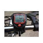 sunding sd-548b wired bike bicycle cycle computer odometer speedometer lcd waterproof 14 functions
