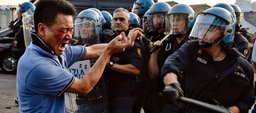 Chính phủ Ý trấn áp một cộng đồng gốc Hoa