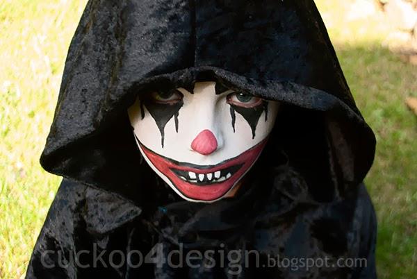 Evil Clown Face Paint Ideas 91127 Loadtve