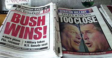 Aftermath of US election 2000