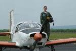 Primeira piloto solo da FAB